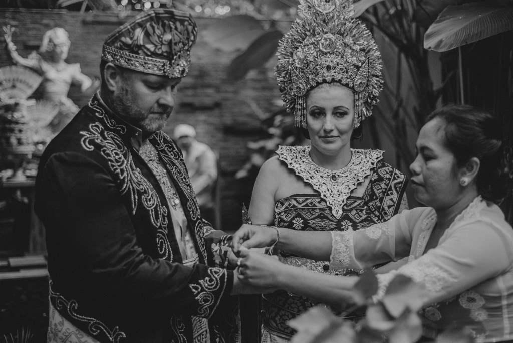 Balinese Wedding Blessing