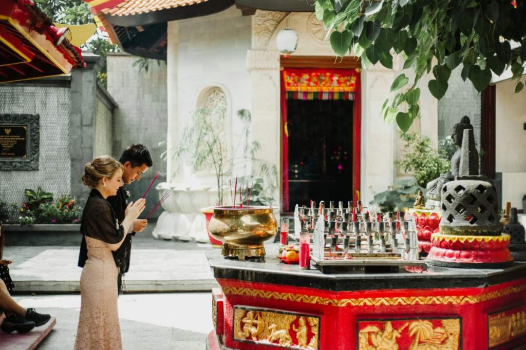 Bali buddhist wedding by bali moon wedding