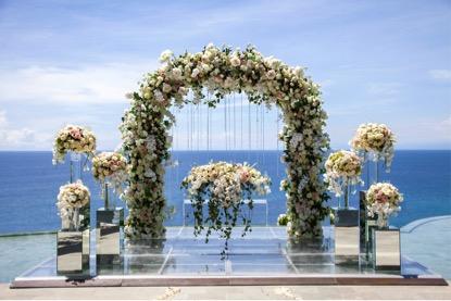 Bali chapel wedding - Bali Moon Wedding - Kamaya Bali Wedding