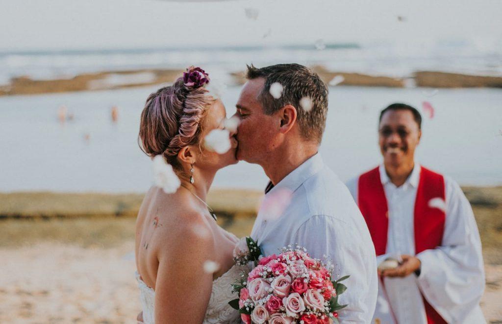 Bali Moon Wedding - Beach Elopement
