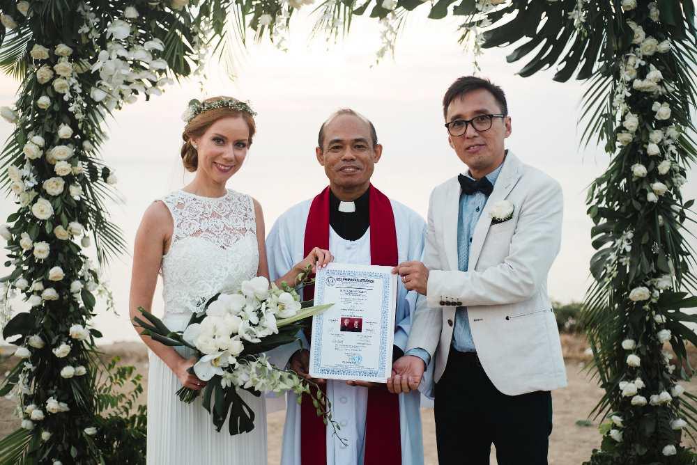 Christian lega wedding package