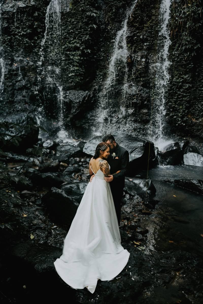 Bali Moon Wedding - Bali Waterfall Wedding