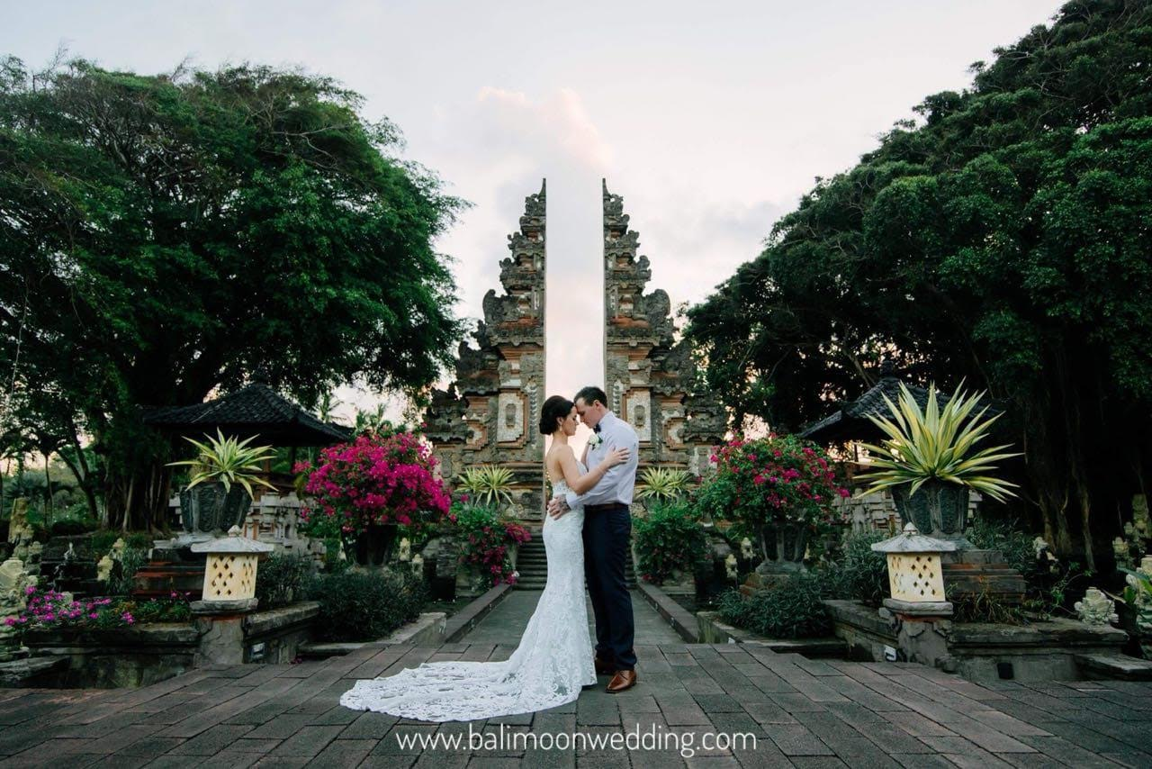 bali moon wedding - nusa dua beach front wedding