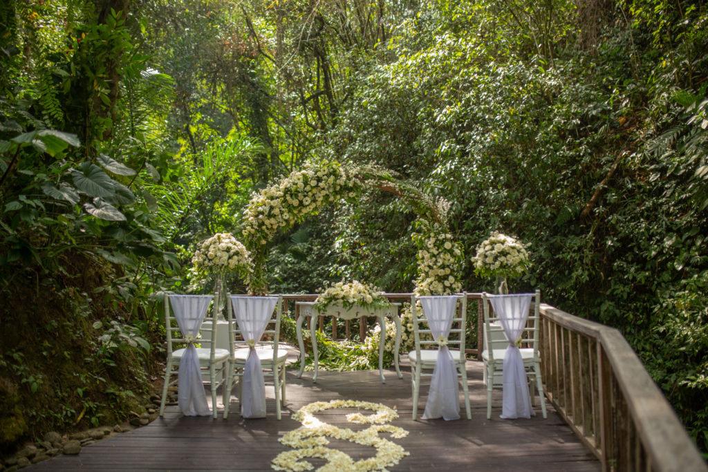 Bali forest wedding - Bali Moon Wedding